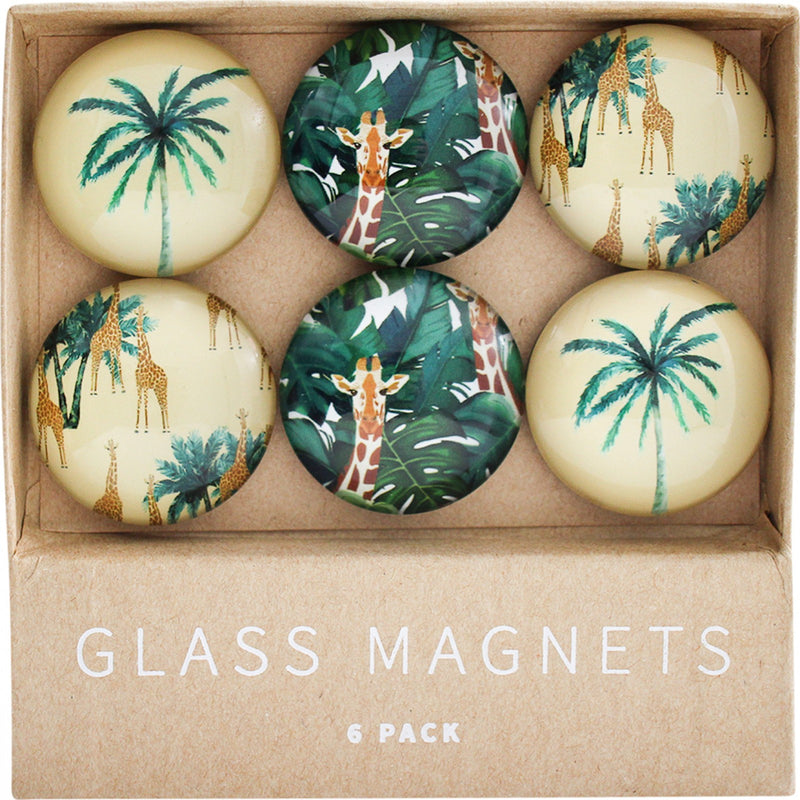 Savannah Glass Magnet Set