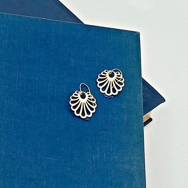 Earring Lotus by Duck & Sparrow