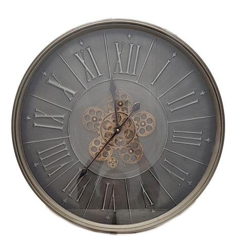 Clock George Modern 3D Gear