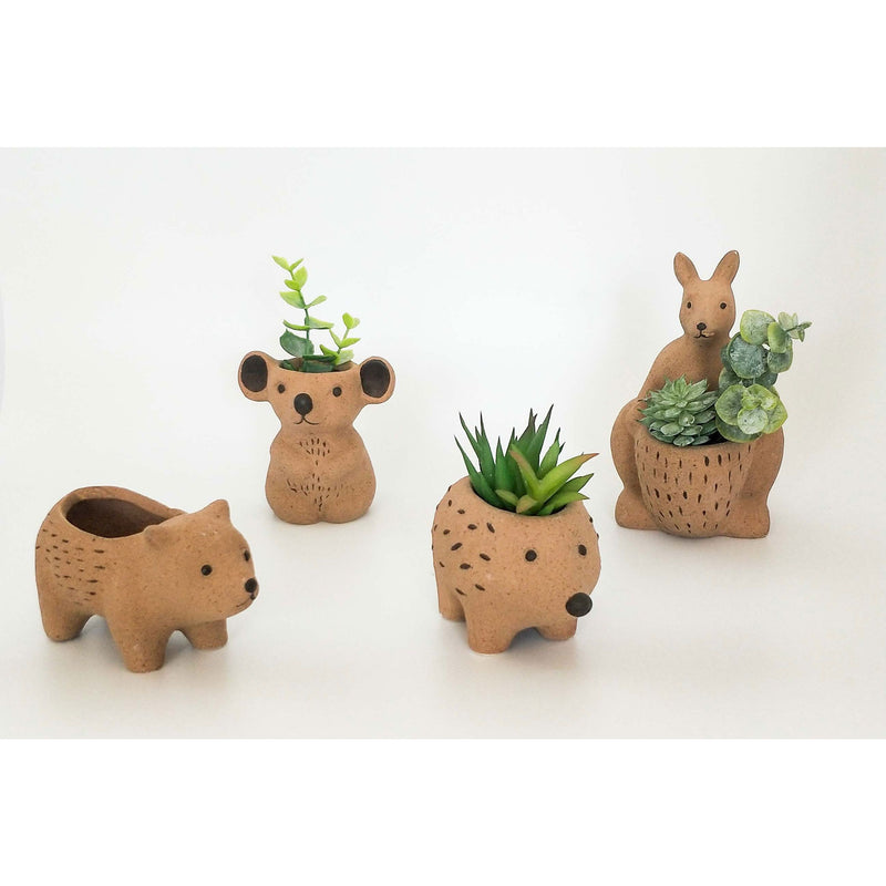 Planter Natural Kangaroo