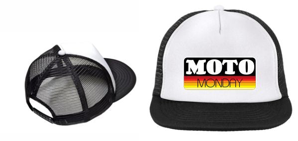 Moto Monday Sunset Cap