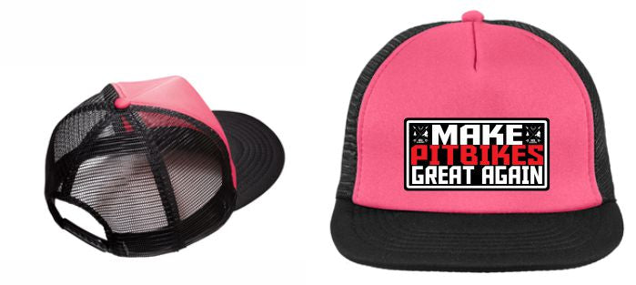 Mini Gladiators, Make Pitbikes Great Again, trucker cap