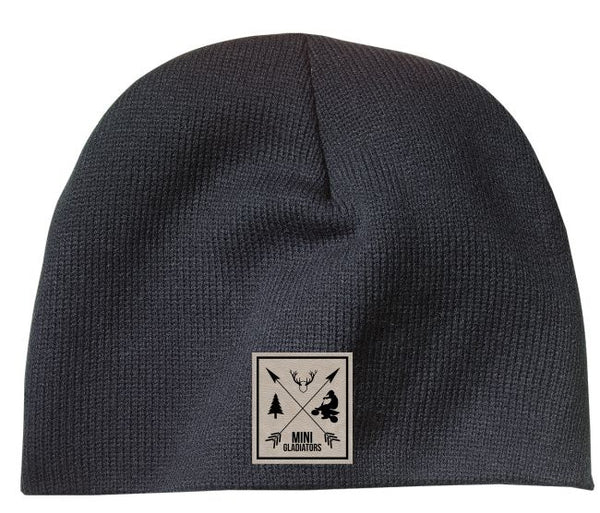 Mini Gladiators logo beanie