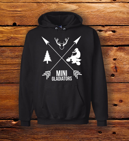 Mini Gladiators Hooded Sweatshirt