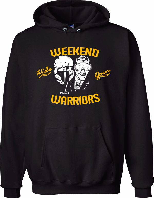Weekend Warriors Hooded Sweatshirt