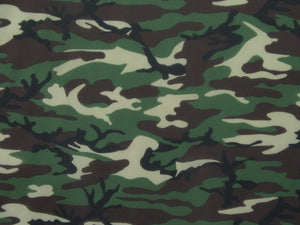 Camouflage Spandex Print