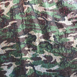 Camouflage Printed Sequin