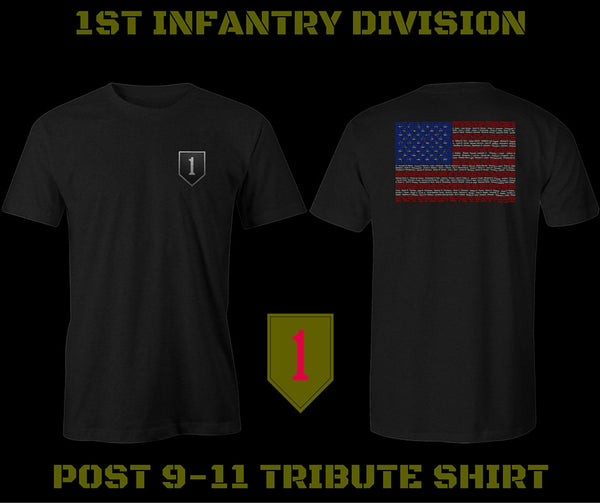 1st INFANTRY DIVISION / TRIBUTE SHIRTS