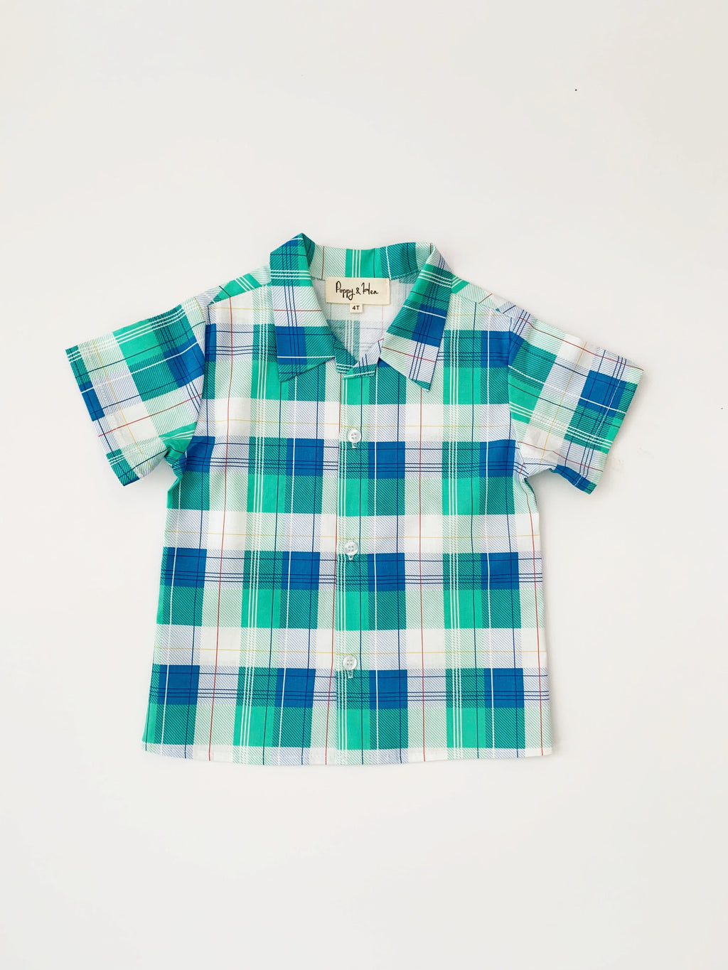 Granddad Plaid Shirt