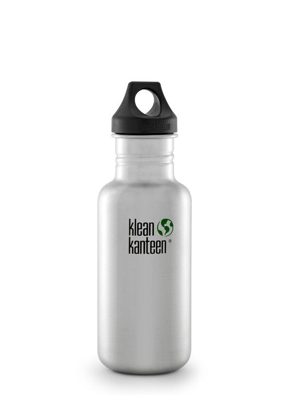 Stainless Steel Bottle | Classic 18oz - Bona Fide Green Goods - Klean Kanteen - 1