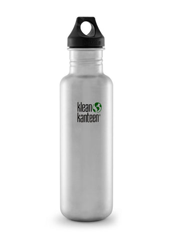 Classic 27oz Bottle - Bona Fide Green Goods - Klean Kanteen - 1