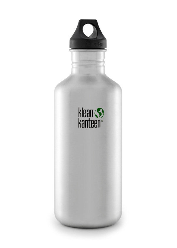 Stainless Steel Bottle | Classic 40oz - Bona Fide Green Goods - Klean Kanteen - 1