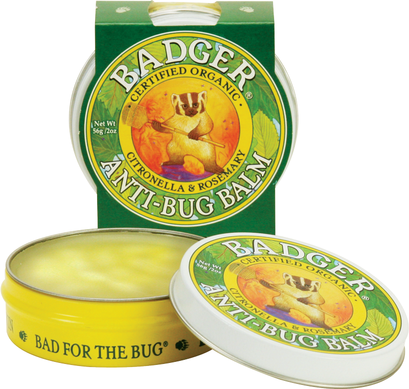 Bug Relief Balm -Natural - Bona Fide Green Goods - Badger Balm