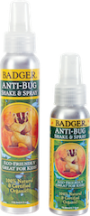 Natural Bug Spray - Bona Fide Green Goods - Badger Balm