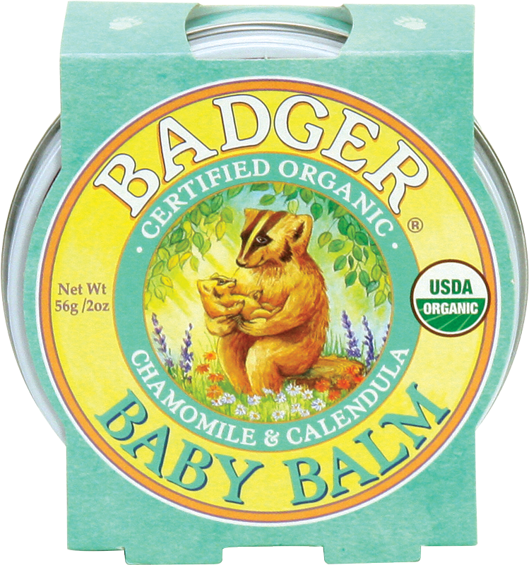 Natural Baby Balm - Bona Fide Green Goods - Badger Balm - 1