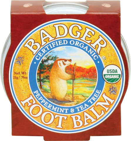 Foot Balm - Bona Fide Green Goods - Badger Balm - 1