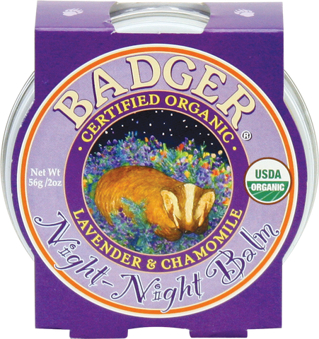 Night Night Balm - Bona Fide Green Goods - Badger Balm - 1