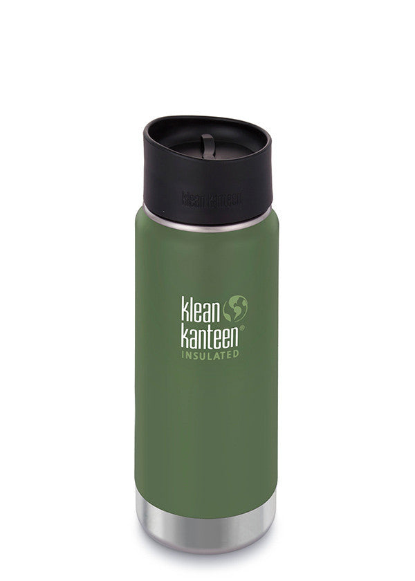 Insulated Wide 16oz Mug | Vineyard Green - Bona Fide Green Goods - Klean Kanteen - 1