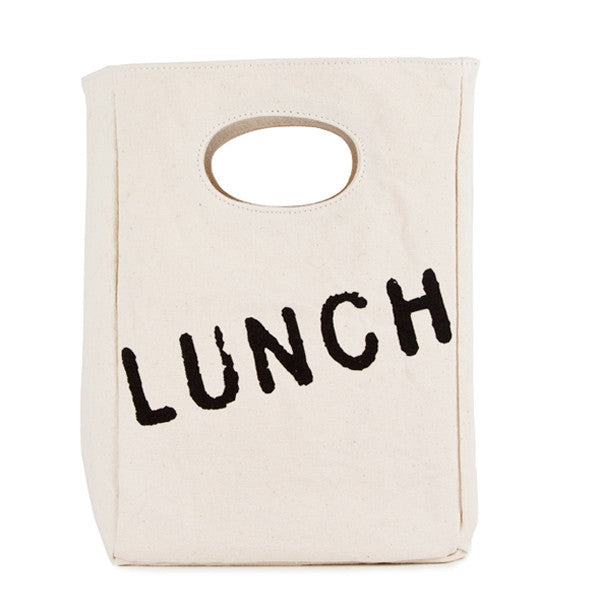 Organic Cotton Lunch Bag | LUNCH - Bona Fide Green Goods - Fluf - 1