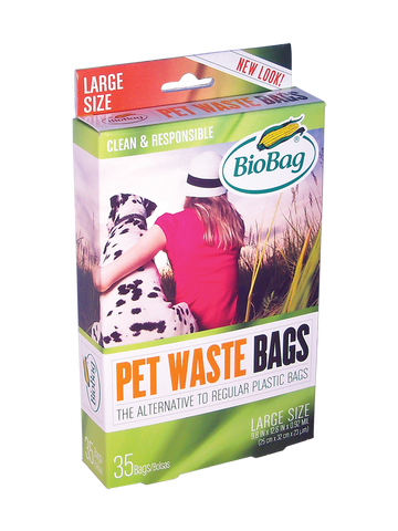 Pet Waste Bags | Large Size - Bona Fide Green Goods - BioBag - 1
