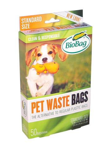 Pet Waste Bags | Standard Size - Bona Fide Green Goods - BioBag - 1