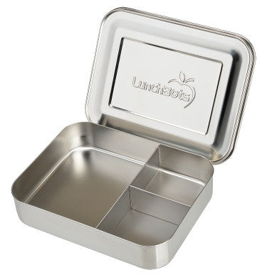 LunchBots Trio | Stainless Steel Food Container