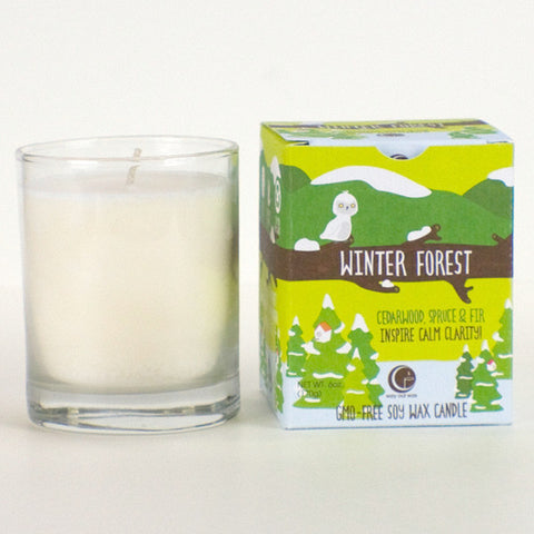 "Holiday ""Winter Forest"" Candle 