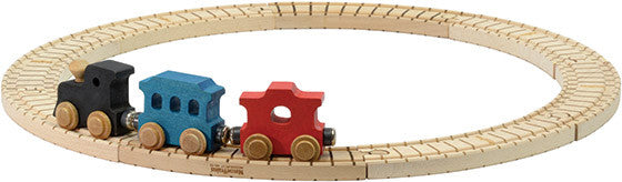 Wooden Train Set - Bona Fide Green Goods - Maple Landmark