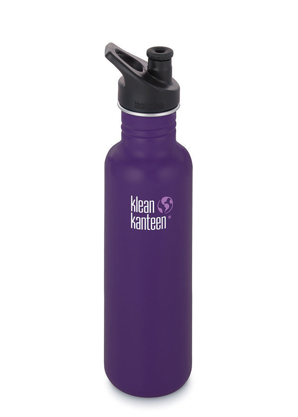 Stainless Steel Bottle | Classic 27oz | Berry Syrup - Bona Fide Green Goods - Klean Kanteen