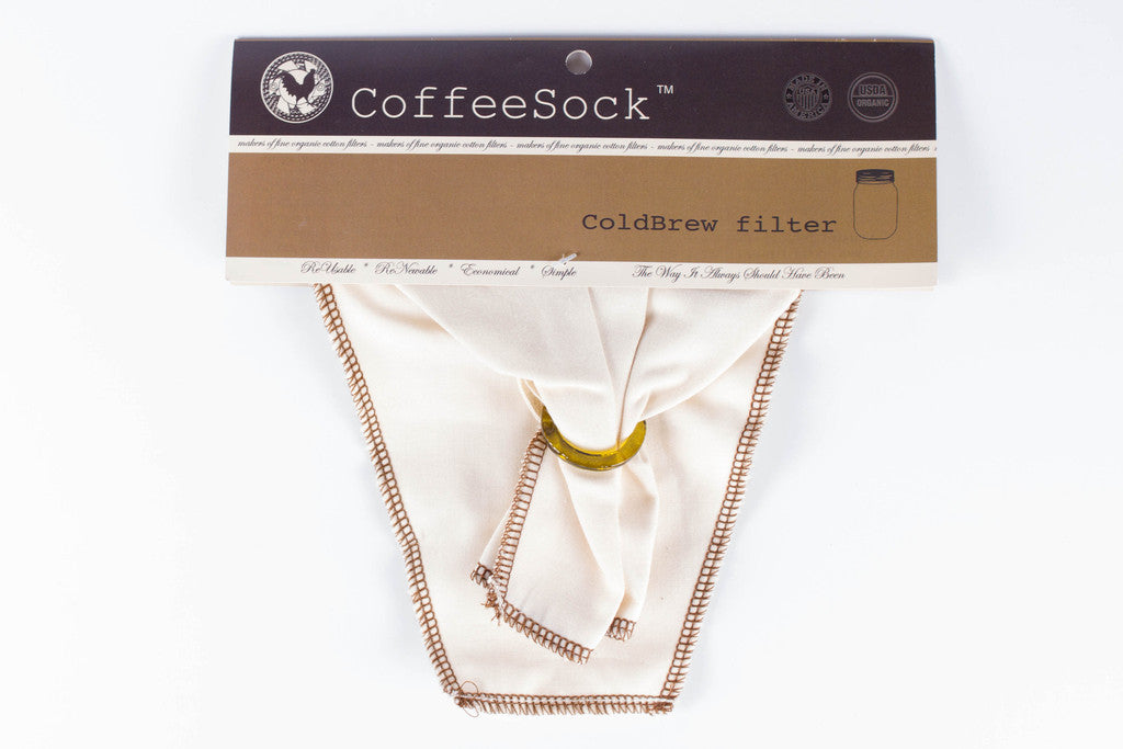 CoffeeSock Cold Brew Filter - Bona Fide Green Goods - CoffeeSock