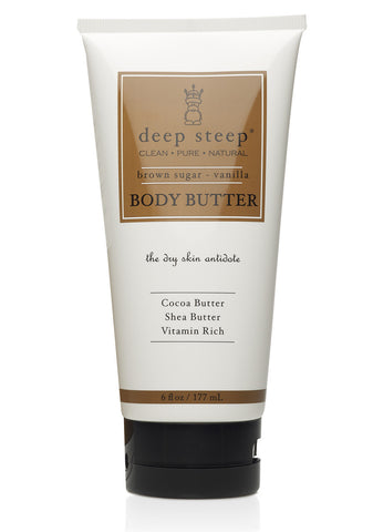 Body Butter | Brown Sugar Vanilla - Bona Fide Green Goods - Deep Steep