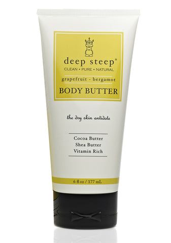 Body Butter | Grapefruit Bergamot - Bona Fide Green Goods - Deep Steep