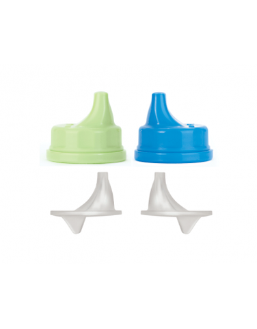 Sippy Cap Set | 2 Pack - Bona Fide Green Goods - Lifefactory - 2