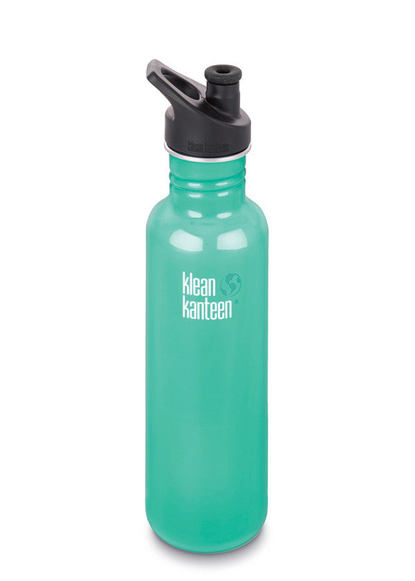 Stainless Steel Bottle | Classic 27oz | Tidal Pool - Bona Fide Green Goods - Klean Kanteen