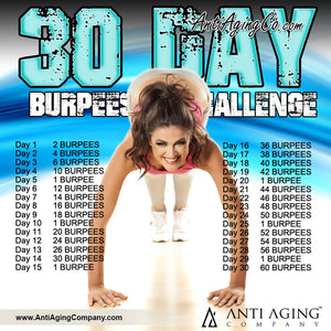 The 30-Day Burpees Challenge