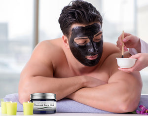 Charcoal Face Mask by VEBELLE Skincare