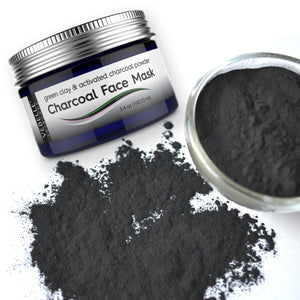 Powder Charcoal Face Mask by VEBELLE the Anti Aging Company