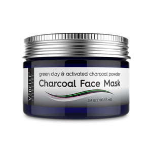 Charcoal Face Mask by VEBELLE the Anti Aging Company