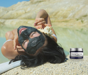 Charcoal Facial Mask by VEBELLE the Anti Aging Company