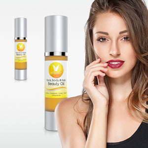 Face, Body and Hair Beauty Oil by VEBELLE Skin Care the Anti Aging Company