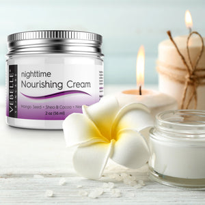 Nighttime Nourishing Cream by VEBELLE the Anti Aging Company