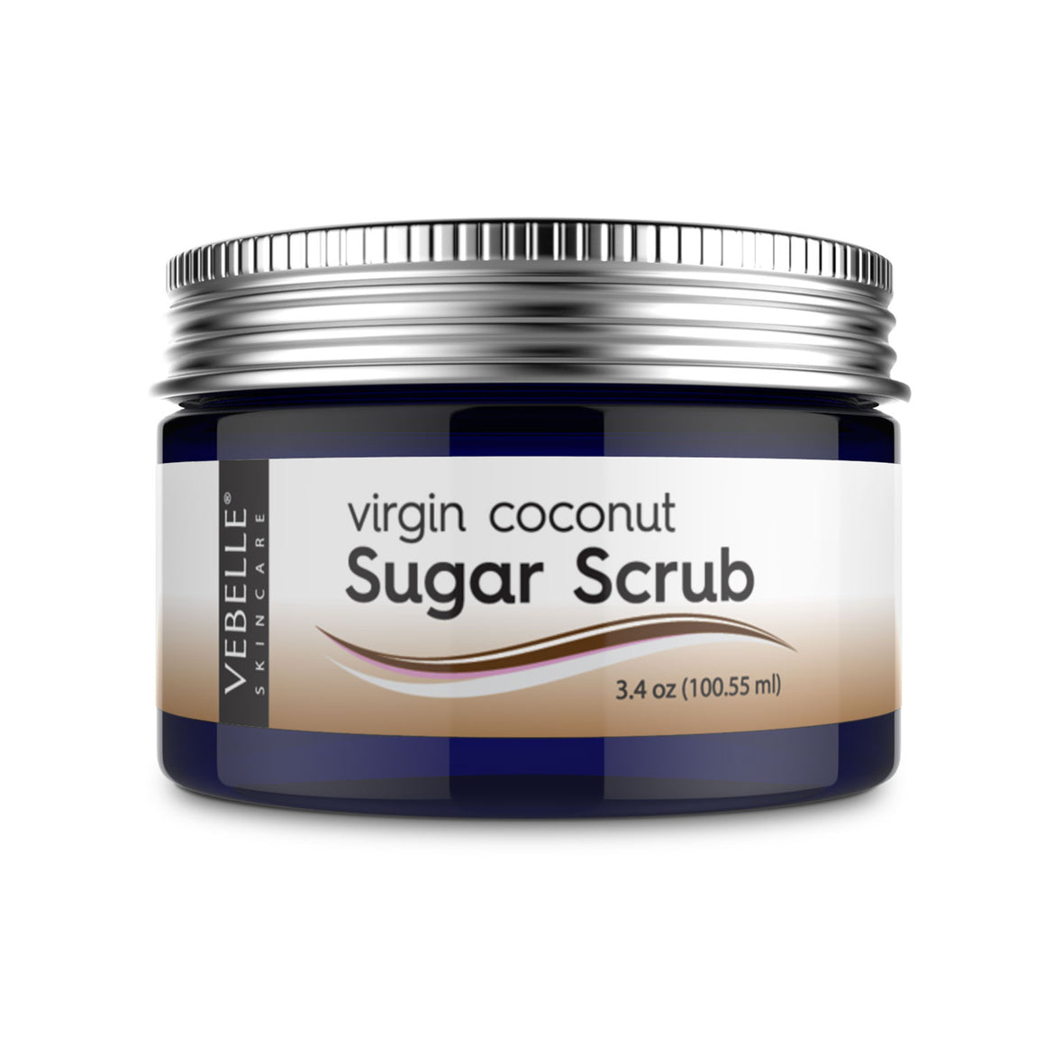 Virgin Coconut Sugar Scrub by VEBELLE the Anti Aging Company