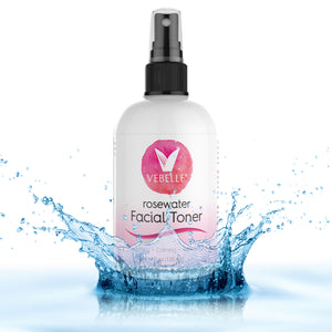 Rosewater Toner by VEBELLE the Anti Aging Company