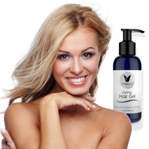 Styling Hair Gel for Men & Women by VEBELLE the Anti Aging Company