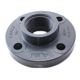PVC Schedule 80, Flange Threaded