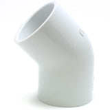PVC Schedule 40, 45 Degree Elbow - Savko Plastic Pipe & Fittings