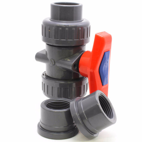 Colonial True Union Ball Valves - Savko Plastic Pipe & Fittings