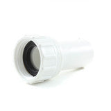 "PVC Garden Hose Adapter, 3/4"" FHT x 1/2"" Spigot - Savko Plastic Pipe & Fittings - 1"