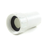 "PVC Garden Hose Adapter, 3/4"" FHT x 1/2"" Slip - Savko Plastic Pipe & Fittings - 1"