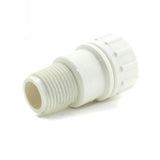 "PVC Garden Hose Adapter, 3/4"" FHT x 1/2"" MPT - Savko Plastic Pipe & Fittings - 1"